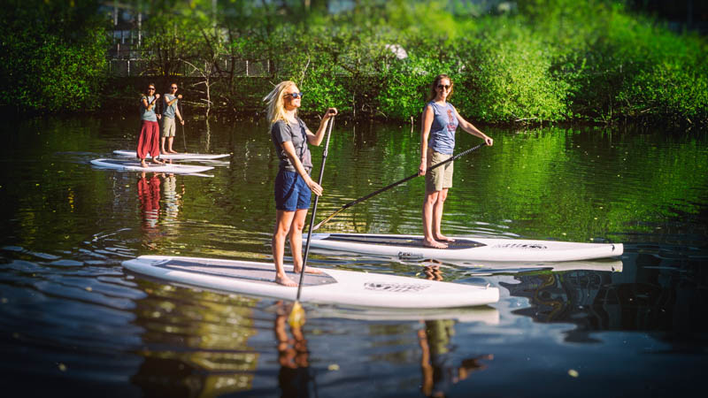 Rent & paddle SUP boards in Stockholm